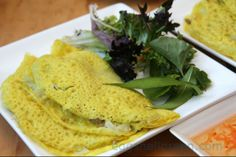 Vietnamese pancakes (banh xeo) - they're not that hard really!