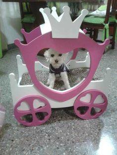Cucha Carroza, Perros Y Gatos, Tamaño Medio. Cama Mascotas - $ 750,00