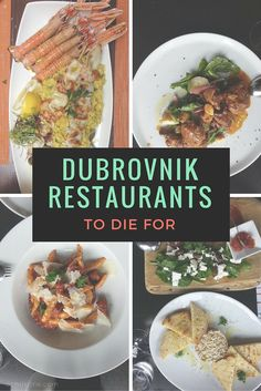 Before you go to Dubrovnik, Croatia, be sure to note these amazing restaurants to try during your vacation. They're even approved by the locals so you KNOW it's good.
