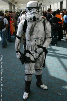 Darth Vader Costumes, Storm Trooper Costume, Star Wars Rpg, Best Cosplay, Cosplay Costumes, Military, Stars, Behance, Halloween