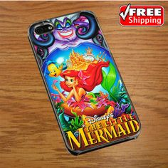 Ariel The little mermaid IPHONE 4 | 4S COVER CASE