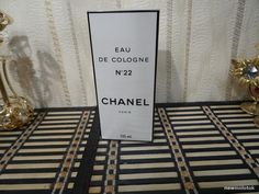 Chanel No.22 Chanel 125ml Vintage Cologne Sealed by MyScent on Etsy