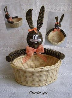 а (35) (510x700, 83Kb) Willow Weaving, Basket Weaving, Baskets On Wall, Wicker Baskets, Diy Paper, Paper Crafts, Craft From Waste Material, Newspaper Art, Egg Carton Crafts