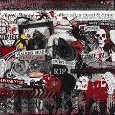 Zombie collage