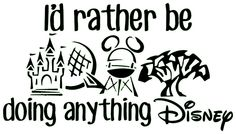 Disney Car Decal by DisneyInDye on Etsy, $5.00