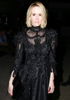 Fashion Week: Front Row Favorites - Sarah Paulson from #InStyle