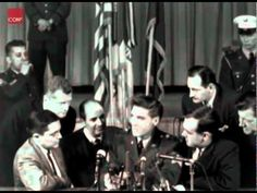 Elvis Sitting Down For Press Conference At Fort Dix