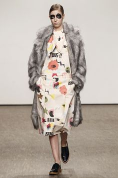 Ioana Ciolacu Berlin Fall 2016 Fashion Show Fashion Prints, Fashion Art, Fashion Show, Fashion Design, Fall Fashion 2016, Autumn Fashion, Seoul, Copenhagen Fashion Week, Berlin Fashion