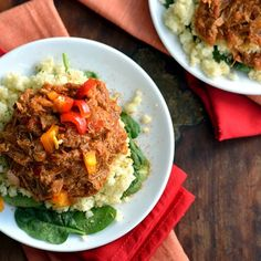 Slow Cooker Creole Pulled Chicken