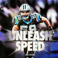 from Carolina Panthers  #UnleashSpeed