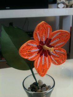 Quilled Hibiscus