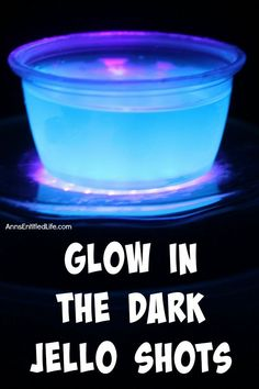 Glow in the Dark Jello Shots Recipe. This Glow in the Dark jello shots recipe is…