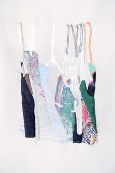 closet studies, contemporary embroidery, embroidery, fine art, artist, textile art, Allison Watkins #embroidery