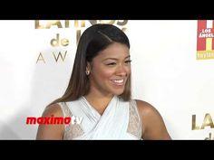 "Gina Rodriguez ""2013 Latinos de Hoy Awards"" Red Carpet - Filly Brown Star"
