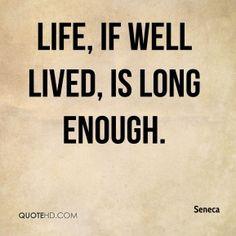 Seneca Life Quotes | QuoteHD
