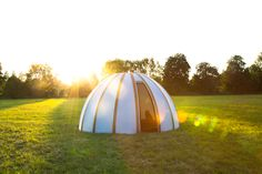 Learn about the history of Glamping!