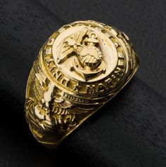 Gold #Marines Ring #heritageauction