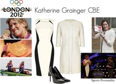 """""""Katherine Grainger CBE"""" by fashion-fixed on Polyvore"""