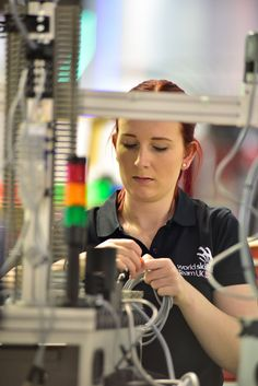 Day 1 of competitions: Robyn Clarke - Mechatronics