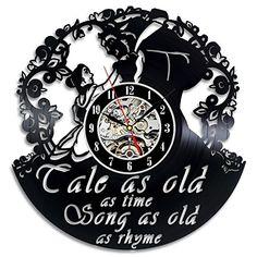 "Beauty and the Best Creative Vinyl Wall Clock ""Tale as Ol... https://www.amazon.com/dp/B01KIGGU6S/ref=cm_sw_r_pi_dp_x_skTLybKVZ4BYV"
