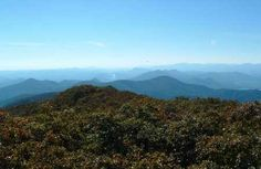 """The view  from Rabun Bald, Georgia's 2nd highest peak. Located on the Bartram Trial, winner of BG's poll """"Best Long Trail in GA."""" http://www.brownsguides.com/"""