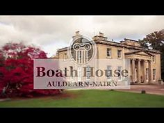 Luxury country house restaurant with rooms set in 22 acres of gardens with lake, parkland and kitchen garden. Award winning cuisine and a garden cafe. Boath House, Country House Restaurant, Garden Cafe, Future Travel, Room Set, Acre, Scotland, Gardens, Mansions
