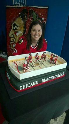 Blackhawk cake
