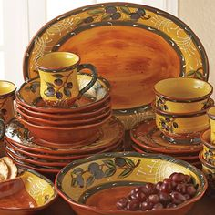 French Olive Dinnerware