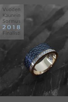 Home Petri Pulliainen Institute Of Design, Helsinki, Petra, Different Colors, Rings For Men, White Gold, Wedding Rings, Rose Gold, Engagement Rings