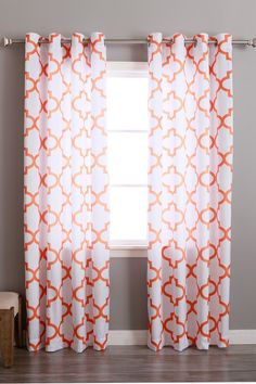 tangerine curtains | home inspiration | pinterest | curtains