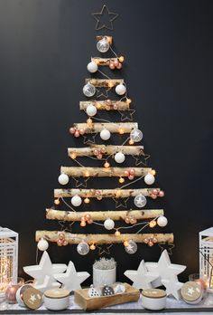 floralux decoration noel 2018 Christmas Tree made out of pallets | Christmas | Pinterest  floralux decoration noel 2018
