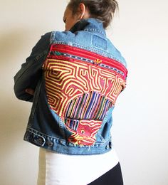 Check out this item in my Etsy shop https://www.etsy.com/listing/524096043/boho-denim-levi-jacket-ethnic-tapestry