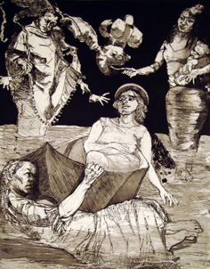 Artist Paula Rego biography, exhibitions, art for sale, latest news and work. Buy Paula Rego original artwork and paintings at Marlborough Gallery. Figure Painting, Painting & Drawing, Underwater Art, Feminist Art, Portraits, Art Station, Buy Art Online, Traditional Art, Mixed Media Art