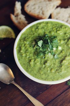 Pea Coconut Curry Soup from Carpe Season