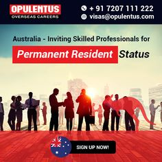 Migrate to Australia - Connect with us now!  #AustralianImmigration #EOI #MigratetoAustralia #AustraliaPR #ExpressEntry #visa #pr #permanentresidency #immigration