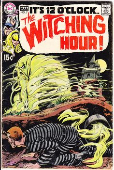 The Witching Hour #7 DC Comics Witches Tales of Horror Fear Terror Scary Creepy Neal Adams Nightmare 1970 by LifeofComics #halloween #comicbooks