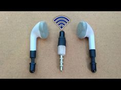 How to Make Wireless Earphone - with LED Sensor Wireless Earphone - 2020 Electronics Mini Projects, Electronics Basics, Electronics Gadgets, Technology Gadgets, Cool Electronic Gadgets, Electronic Gifts, Homemade Weapons, Tablet Phone, Arduino Projects