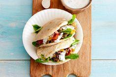 Pita met currygehakt - Recept - Allerhande