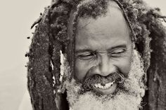 image by @Heather Espana McGeehon  #Jamaica #BW #dreads #smile #rasta