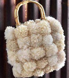 pompom purse project!