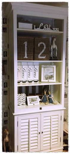 Stenciled baskets. numbers.  Riviera Maison