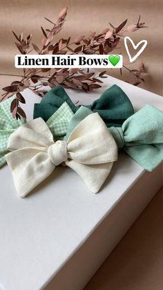 Baby Girl Hair Bows, Toddler Hair Bows, Girls Bows, Baby Bows, Diy Hair Scrunchies, Diy Hair Bows, Diy Leather Bows, Fabric Hair Bows, Making Hair Bows