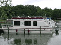 Rented a house boat like these for a week with good friends 8 of us. Lake of the Woods
