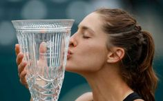 Andrea Petkovic, with the biggest title of her career, Charleston 2014 Petkovic, Charleston, Glass Vase, Tennis, Career, Carrera
