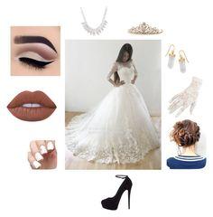 """Look para casamento"" by meninapanda09 on Polyvore featuring moda, Giuseppe Zanotti, Black, BillyTheTree e Lime Crime"