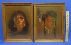 Mother and Child   Nancy McLaughlin (1932-1985) is known for her depictions of Native Americans, these prints are professionally framed.