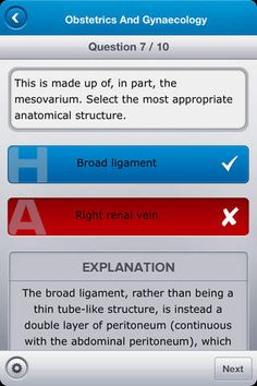 Medical Student Finals is an educational app designed to help students prepare for final examinations by answering multiple-choice questions...