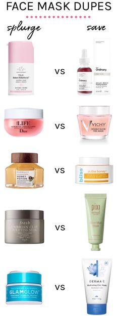 Spoil yourself, not your budget with these cheaper alternatives for high-end face masks — that actually WORK #skincaredupes #drugstoredupes