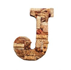 Customized Wine Cork Letter Handmade Vintage by TheCountryBarrel, $87.50