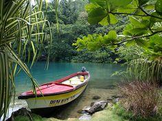 Blue Lagoon - Port Antonio, #Jamaica